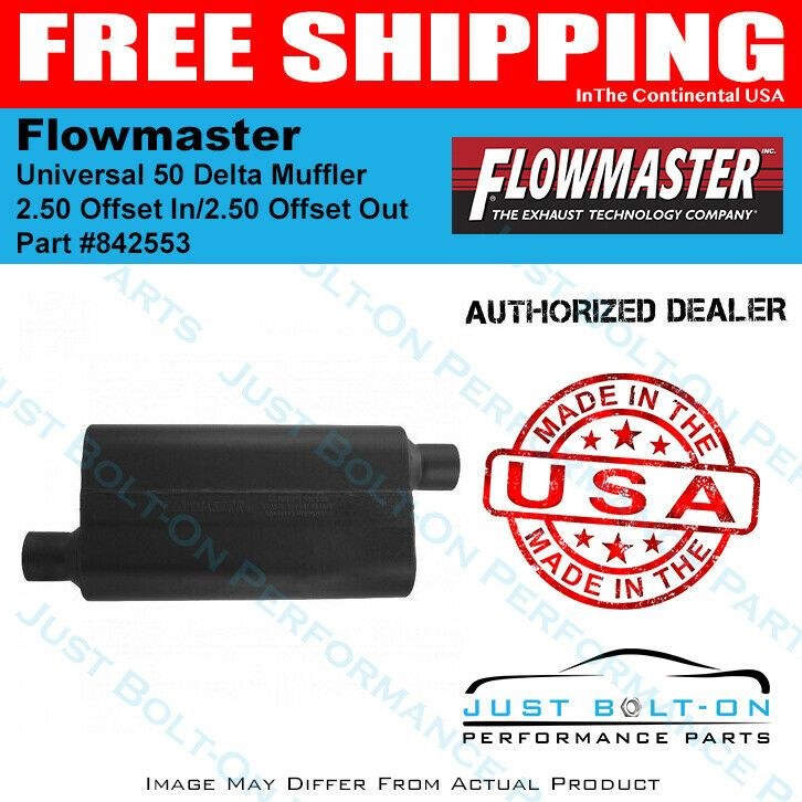 Flowmaster 842553 50 Series Delta Flow Muffler