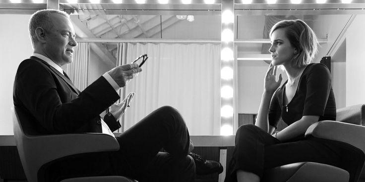 Emma Watson & Tom Hanks I Art Streiber I Esquire