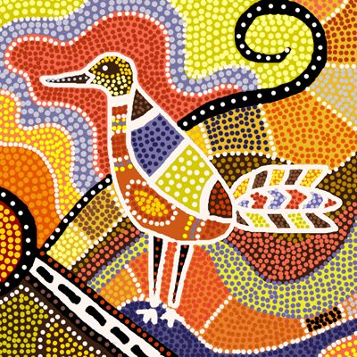 aboriginal art birds - Google Search