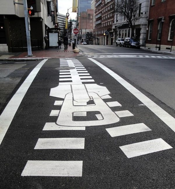 Creative zebra crossing in Baltimore, MD Zippertravel.com Digital Edition