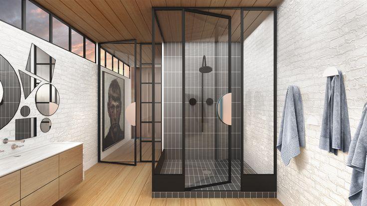 Steel Shower Screens Australia