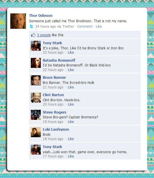 #BROKI Texts from the Avengers. Game Over, Everyone Go Home