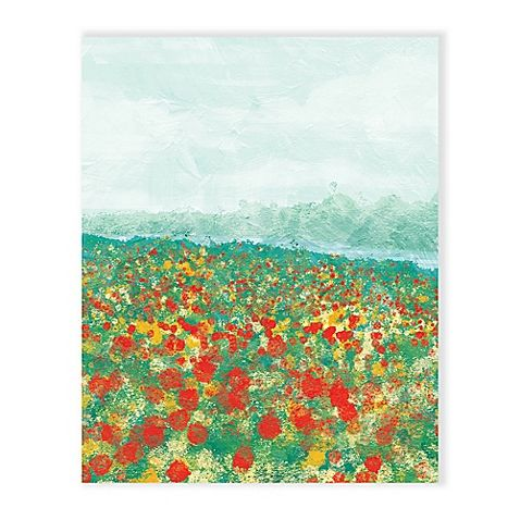 Featuring a field of vivid impressionistic flowers, the Adagio Summer Wall Art brings tranquil beauty and the sophistication of modern art to your home. High definition printing using archival ink ensures a lasting image. Ready to hang and enjoy.