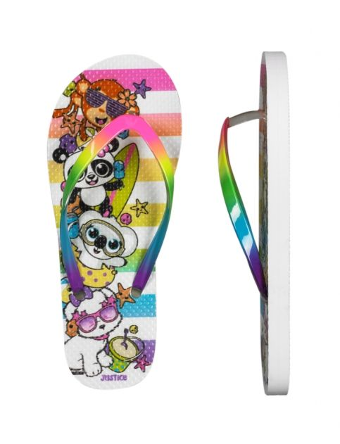 Critter Vacay Flip Flops   Girls Flip Flops Shoes   Shop Justice
