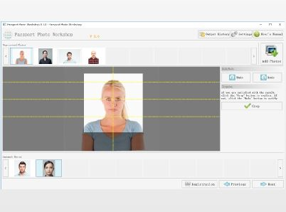 Passport Photo Workshop - All-in-one biometric passport photo software