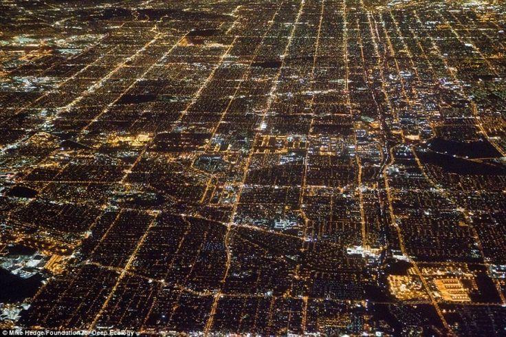 Los Angeles fényei éjjel