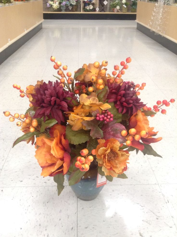 Best fall florals images on pinterest floral
