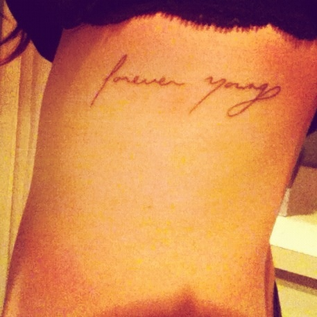 Forever young tattoo tattoo pinterest my mom dylan for Forever young in japanese tattoo