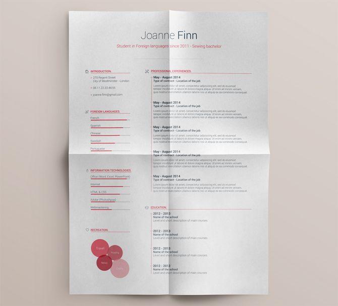 40 best free resume templates 2017 psd ai doc