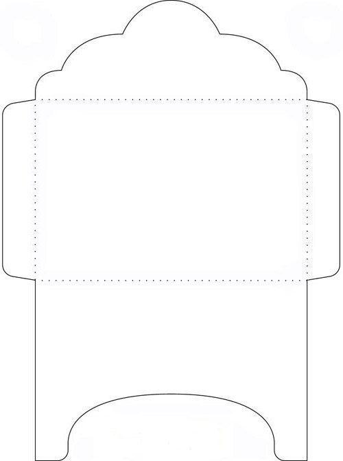 Скачать шаблон конверта для письма