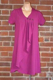 Grape colour wrap tunic/dress $99 aus