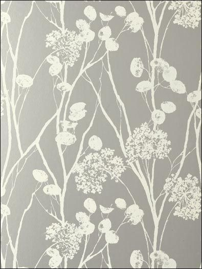 Moonpennies Silver Wallpaper Schumacher Wallpaper - Avant Garde series Item #:WTG-095995 $133.99  per 15'_Single Roll @ wallpaperstogo.com