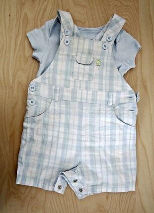 Kupuj mé předměty na #vinted http://www.vinted.cz/deti/miminka-chlapecek/12210648-mothercare-letni-modre-kostkovane-saty-pro-miminko