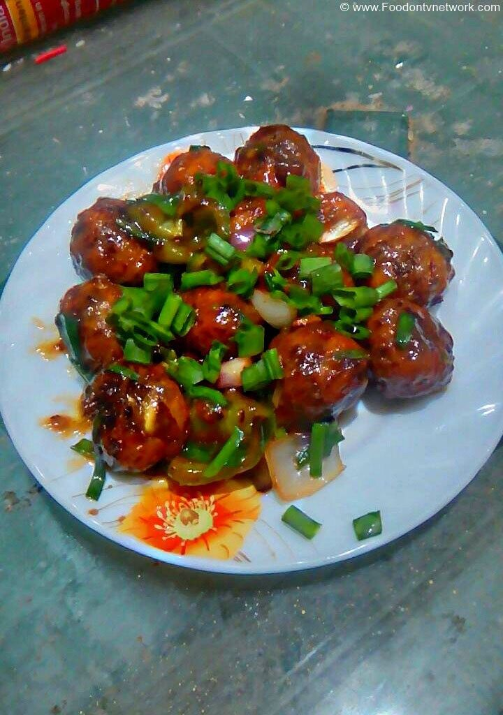 Soya Chunks Manchurian Recipe. Manchurian Recipe. Vegetable Manchurian Recipe. Indo-Chinese Recipe. Fast Food Recipe.