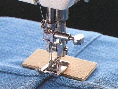 How to sew thickening on seams
