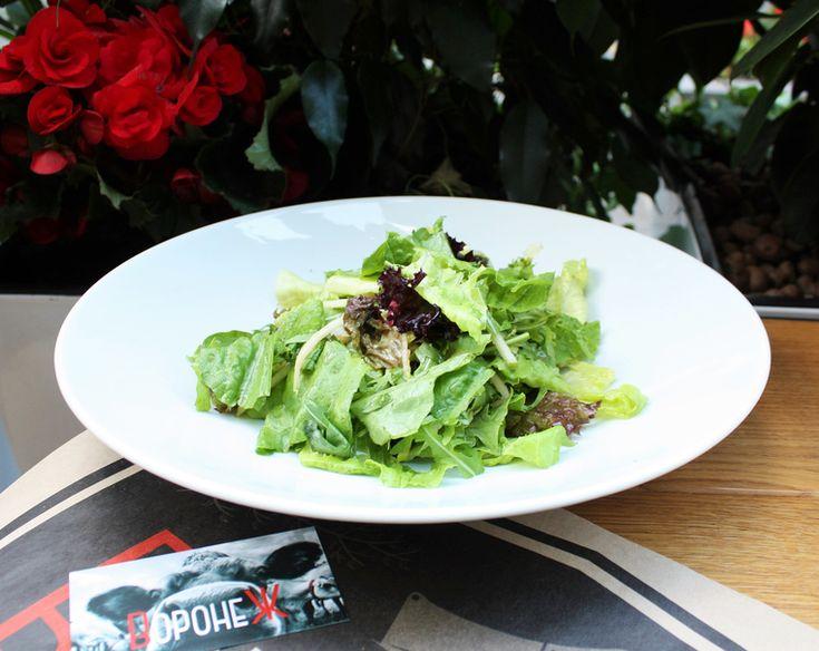 How to Green | Рецепт зелёного салата с яблоком