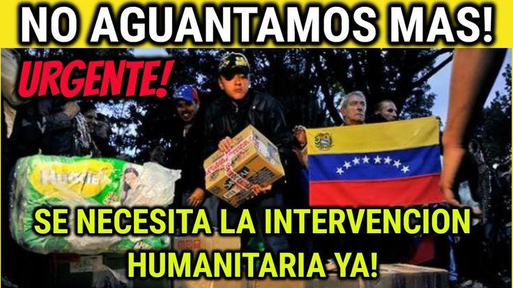 PIDEN INTERVENCIÓN HUMANITARIA DE LA ONU EN #VENEZUELA | NOTICIAS DE HOY...