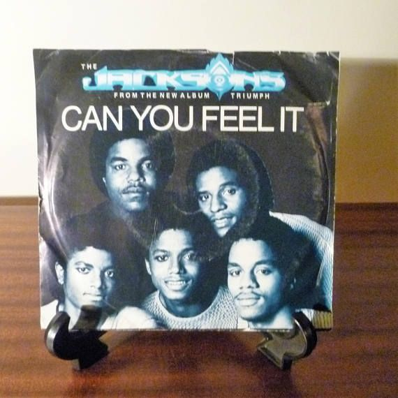 Here is a 45 Vinyl Record Single released in 1980 for The Jacksons
