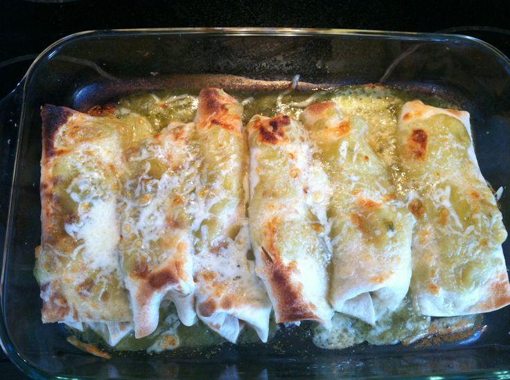 chicken enchiladas cream cheese