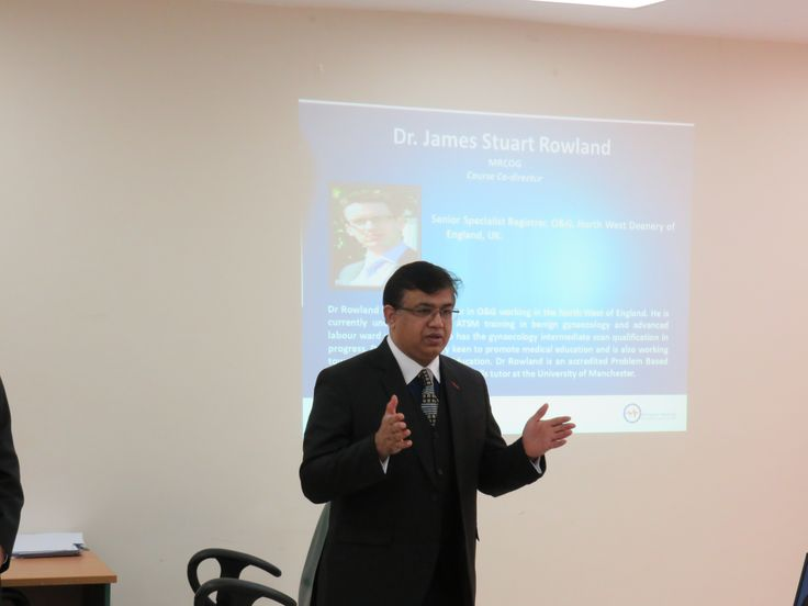 ABMA MRCOG Part I Course - Course Tutor, Dr. Saleem Khan, Course Director, ABMA