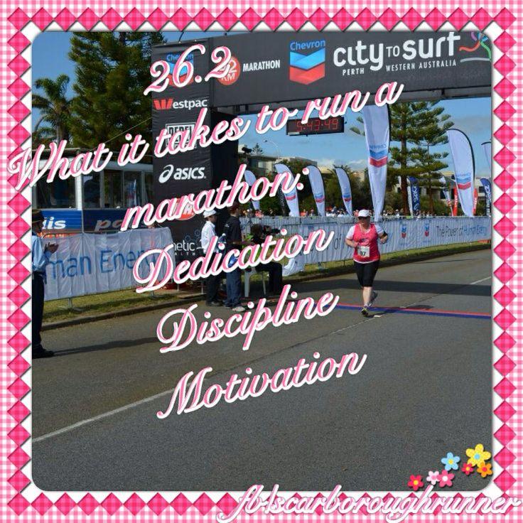 What it takes to run a marathon: Dedication, discipline and motivation