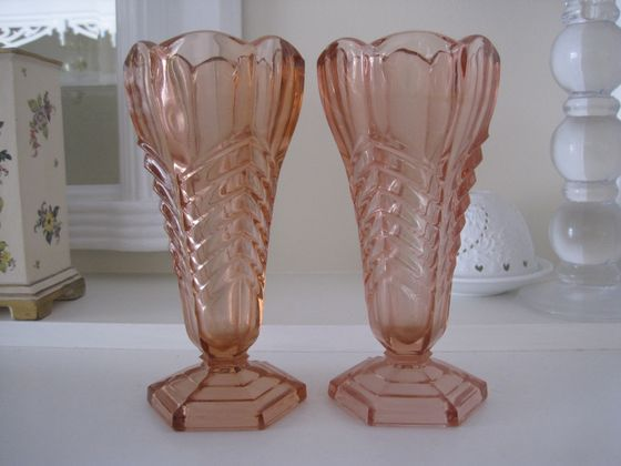 1163 Best Depression Glass Images On Pinterest Pink Depression