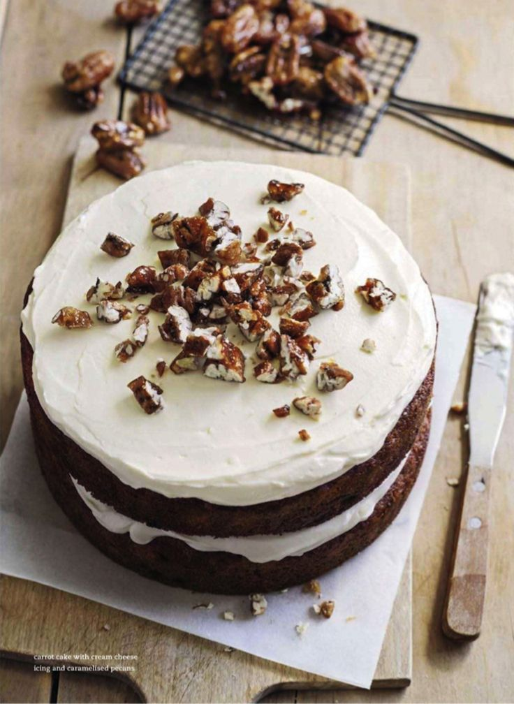 Donna Hay Carrot Cake With Cream Cheese Icing