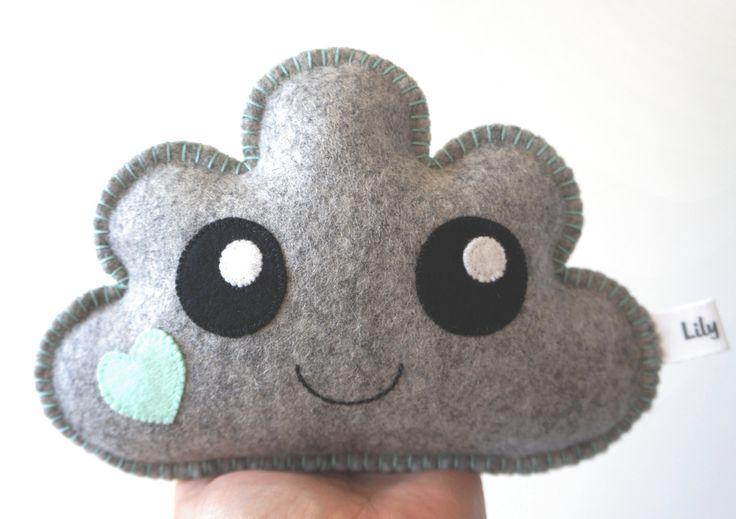Cute for the nursery! Cloud Pillow, Cute Cloud, Nursery Decor - pinned by pin4etsy.com