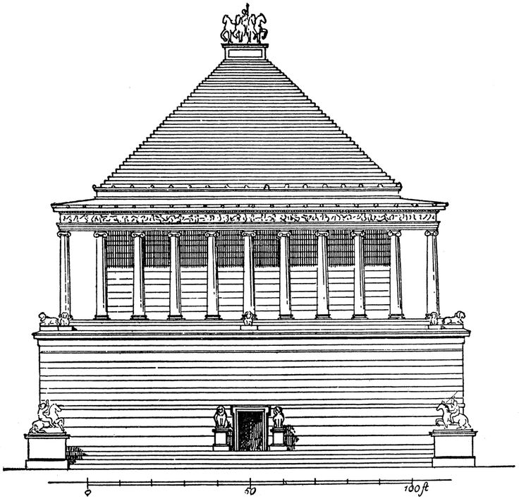 The Research & Ramblings of a Blonde INTJ: The Mausoleum at Halicarnassus
