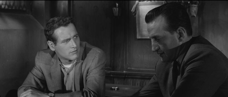 The Hustler (1961). A moody and atmospheric examination of character and the cost of a winning-at-all-costs mentality. Iconic work from Paul Newman as Fast Eddie, Piper Laurie, Jackie Gleason, and George C Scott as the unscrupulous Bert Gordon.
