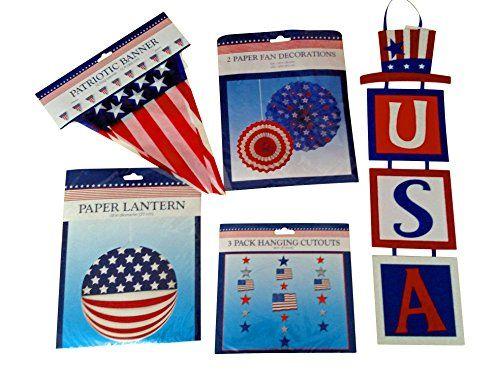 Patriotic Fourth of July Party Decorations Bundle Greenbriar https://www.amazon.com/dp/B01GENBR80/ref=cm_sw_r_pi_dp_x_3RBPyb1ZTEXSM
