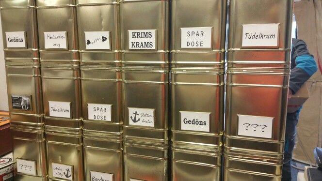 Gedöns/Kettenkasten/Krimskrams Alte Teedosen #MaritimeManufaktur