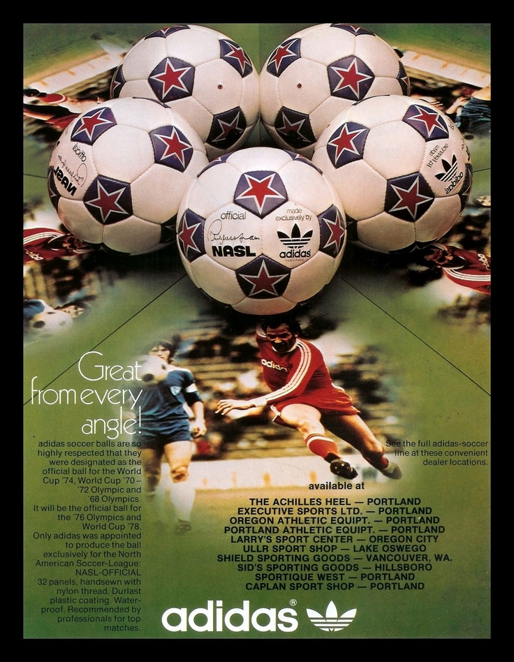 NASL MEMORIES: Search results for adidas