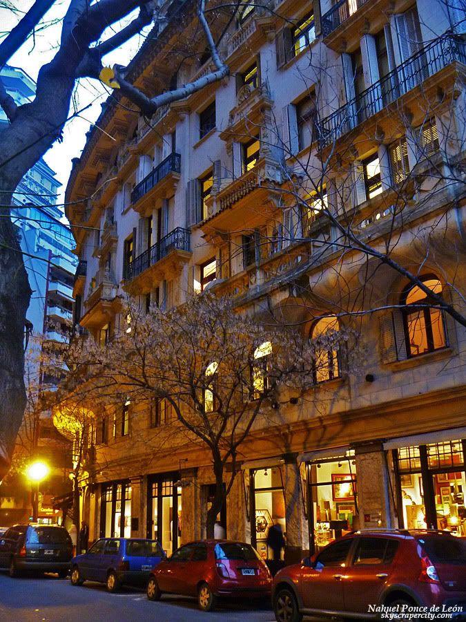 Arroyo str., Retiro, Buenos Aires.  More on buildings...