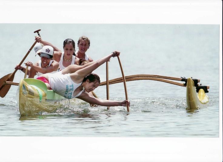 Waka Ama = outrigger canoeing