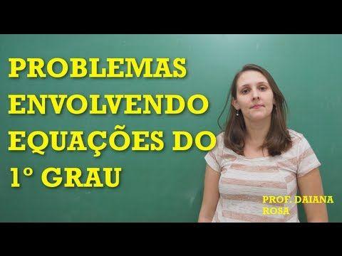 PENSI - Matemática - Problemas envolvendo Sistemas de Equações do 1° grau