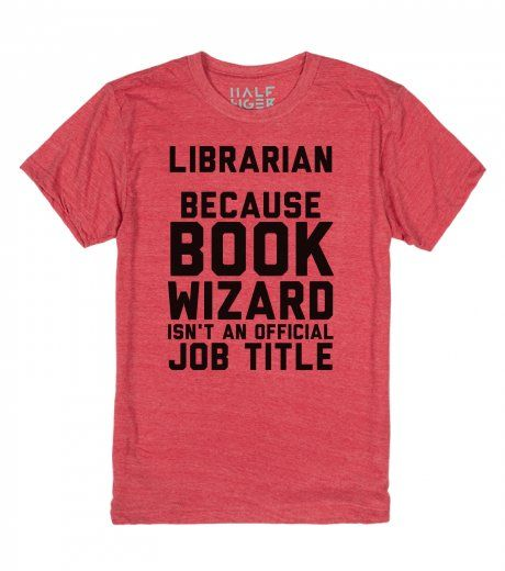 Librarian: Because Book Wizard Isn't An Official Job Title