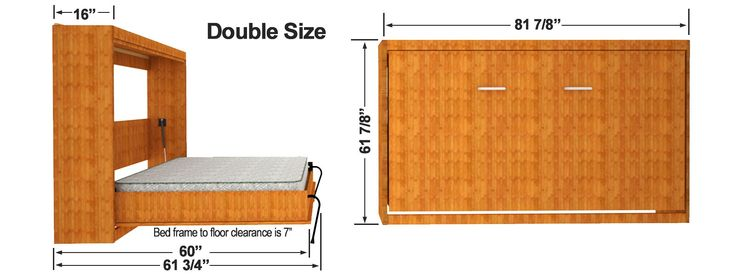 Side Mount Wall Bed Kit