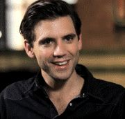 ANIMATED GIF This gif may be silent but I can still hear Mika's laugh in my head, it's that beautiful - Mika interview 2012