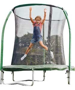 Chad Valley 6ft Trampoline and Enclosure.