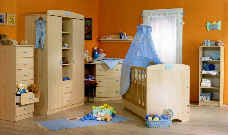 Nelli light blue nursery. / Nelli kék babaszoba