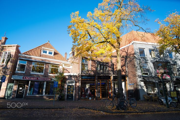 Streets of Hoorn - Photo taken at October 2016  Hoorn- Netherlands Fuji Xpro2- Samyang 12mm