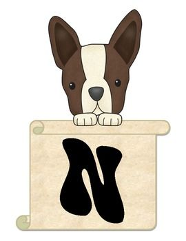 Terriers in the School Dog Bulletin Board Helpers - Our Library is Pawsitively Pawsome!