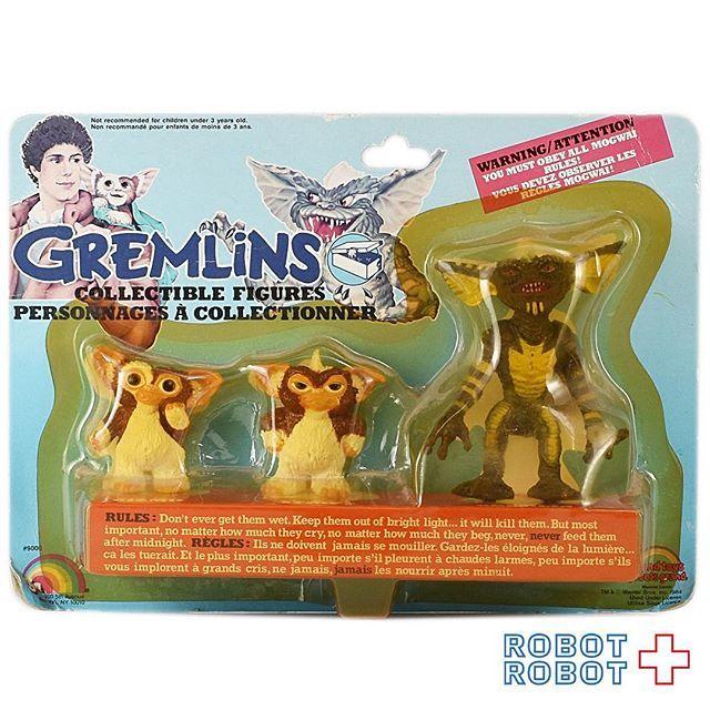 LJN グレムリン ギズモとストライプ PVCフィギュア体セット LJN