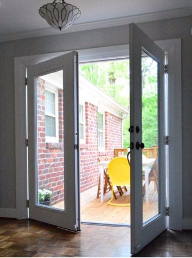 French door for the home pinterest interior french for Interior french patio doors