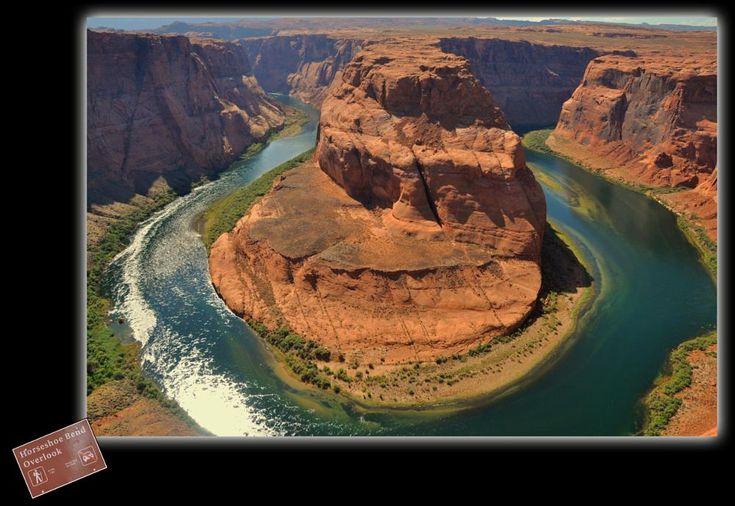 Horseshoe Bend - modellato dal fiume Colorado by roberto scarpone