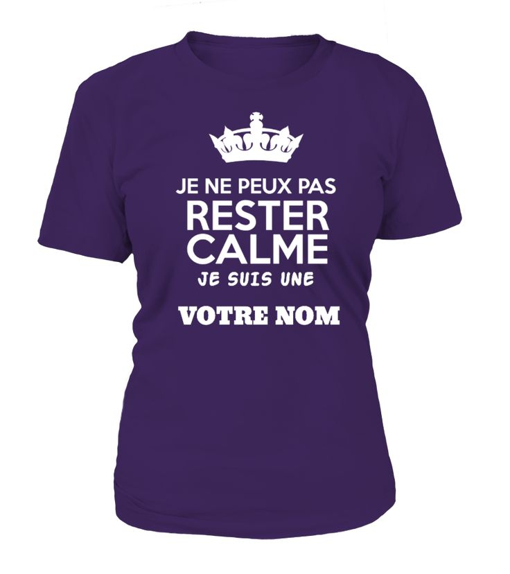 Famille: Rester Calme - À Personnaliser  => #parents #father #family #grandparents #mother #giftformom #giftforparents #giftforfather #giftforfamily #giftforgrandparents #giftformother #hoodie #ideas #image #photo #shirt #tshirt