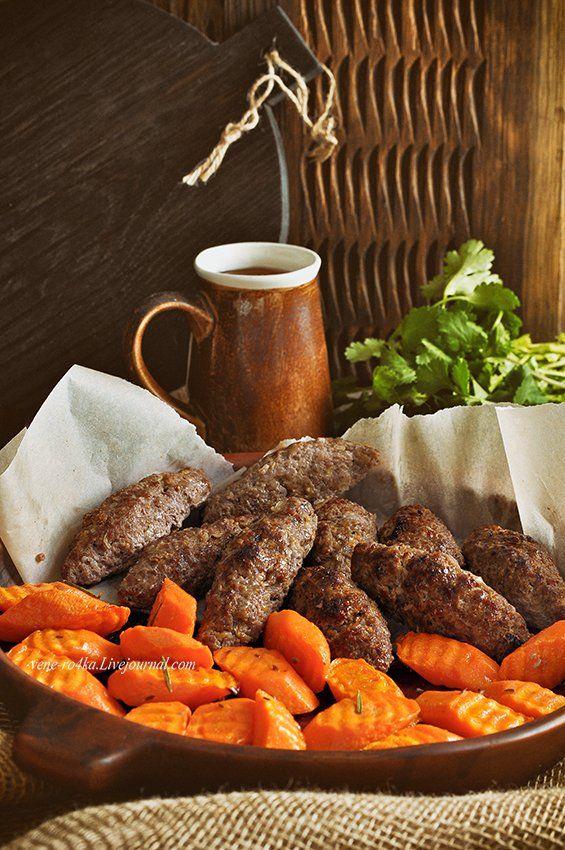 Что может быть проще, чем накрутить мясо и налепить «люляшки»? Да ничего! Решено! На ужин будут люля-кебаб и запеченная, вкуснейшая морковь на гарнир!) Этот…