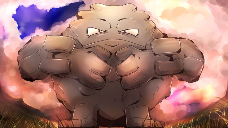Sinnoh Team: Day 3 Graveler~ At the time past the first gym, I realized something horrible. Nearly my whole team had an electricity weakness, my team then consisting of only water type, flying types, and electric types. I set out and catching myself a little ground strength, namely a geodude which happened to end up being the only female on my team there on. I called her Bertha and she came with me. Since I didn't have anyone to trade with, she stayed a Graveler. But she was great moral…