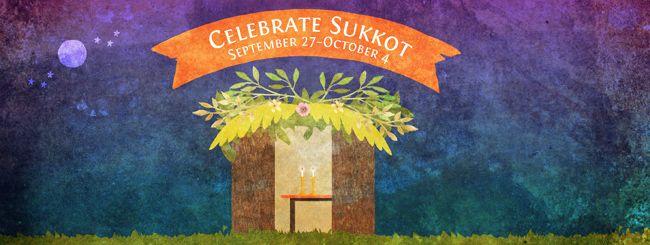 Happy Sukkot!  Celebrate September 27 - October 4
